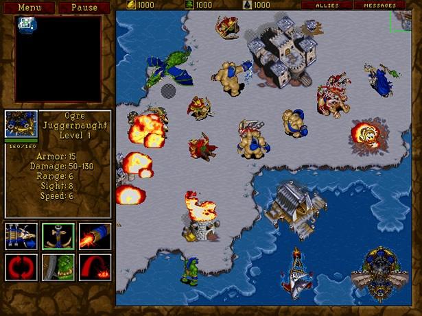 Warcraft 2 1995