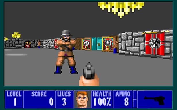 Wolfenstein 3d 1992