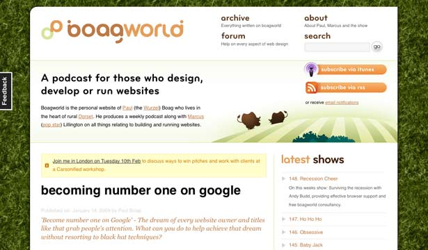 Boagworld Screenshot
