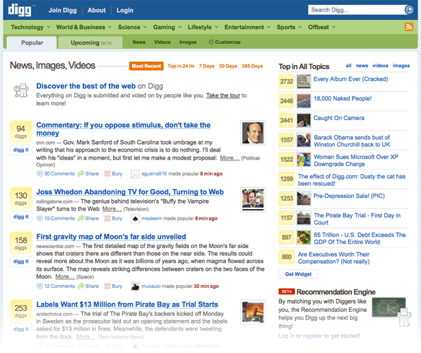 Best Practices For Designing A Social News Website