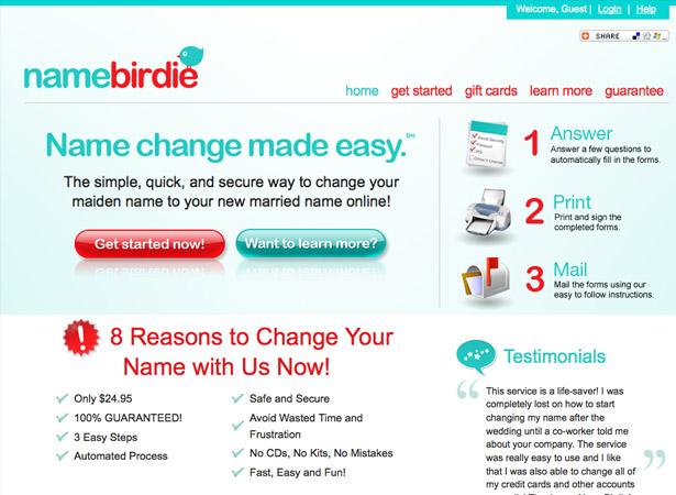 Name Birdie