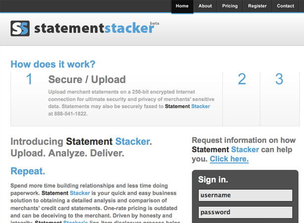 Statement Stacker
