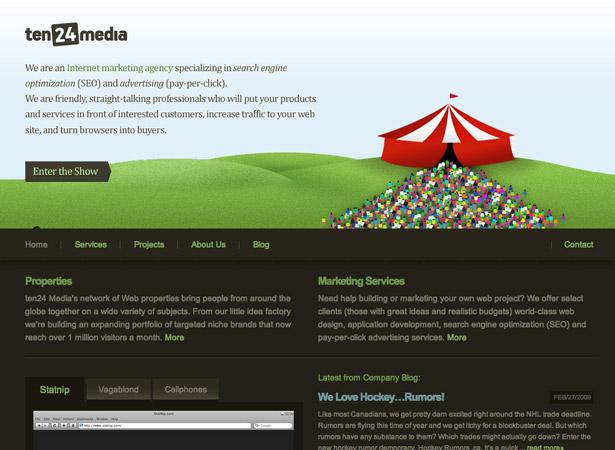 Corporate Websites - 50 Excellent Corporate Website Designs ...