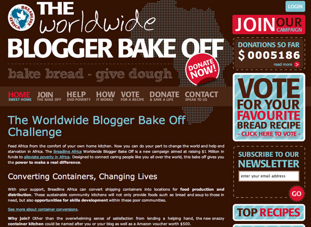 The Worldwide Blogger Bakeoff
