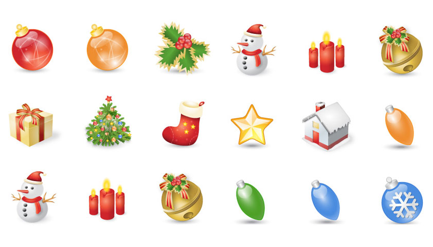 """More Exclusive Icons for the Holidays: """"Xmas Festives"""""""