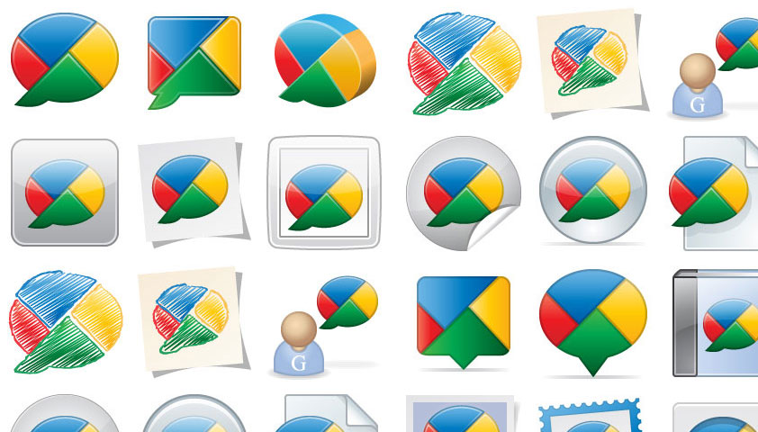 24 Free Exclusive Google Buzz Icons