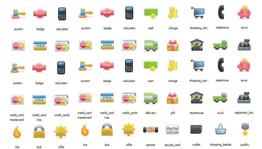 Kaching - Exclusive Free eCommerce Icons