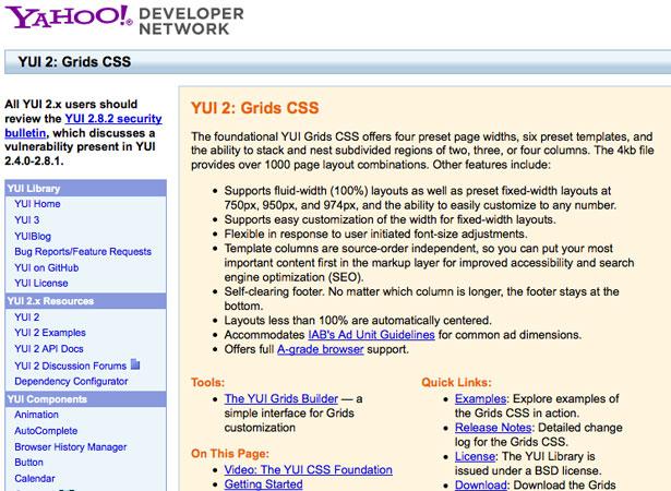 Web Culture: Grid-based Layout Designs   Webdesigner Depot