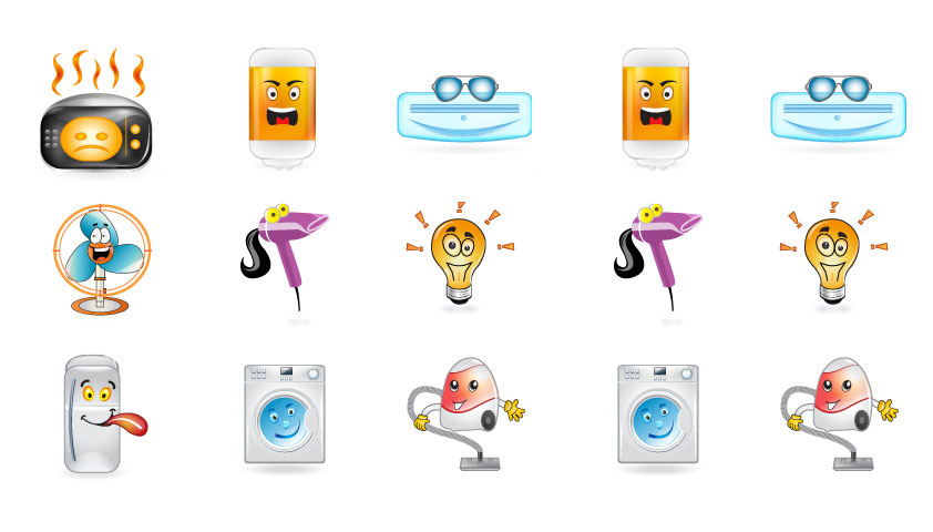 "Exclusive Free Icons: ""Appliance Icons"""