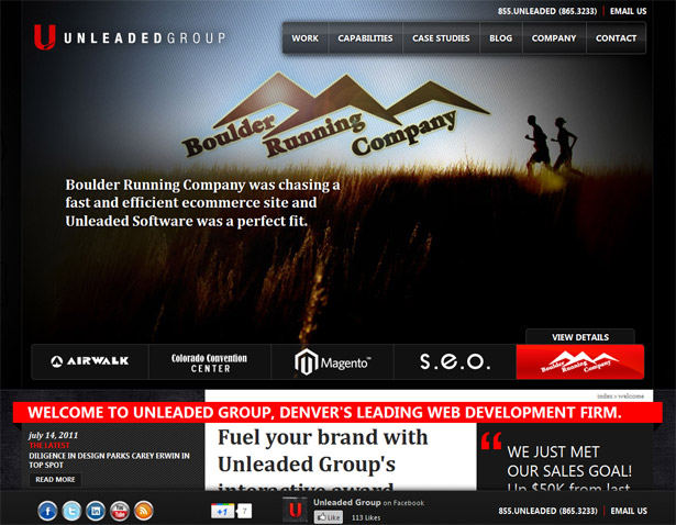 Fixed position web elements webdesigner depot these are the primary reasons to have a site such as this so it makes good sense to fix them in place i a footer where they will get lots of attention malvernweather Choice Image