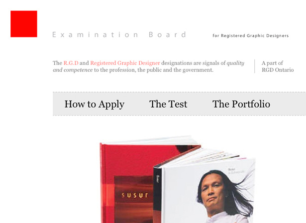 Examination Board for Registered Graphic Designers