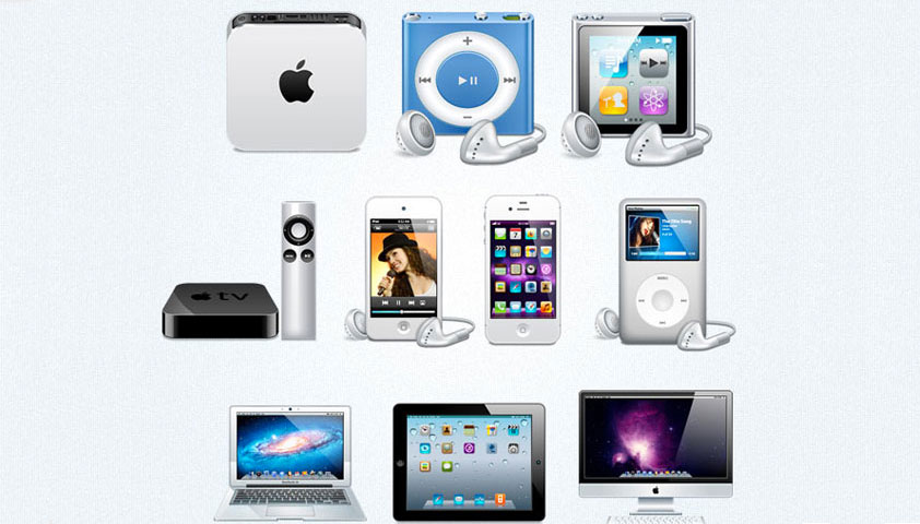 Free Icons: Apple Icon Devices