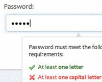Password strength verification with jQuery   Webdesigner Depot