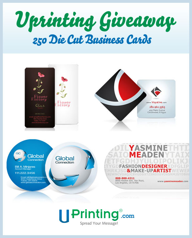 Win 250 die cut business cards from uprinting webdesigner depot read on for more information on how to participate colourmoves