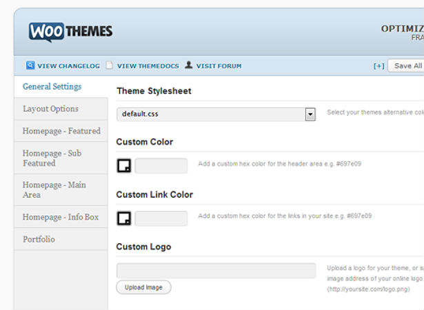 Creating a custom WordPress theme options page | Webdesigner Depot