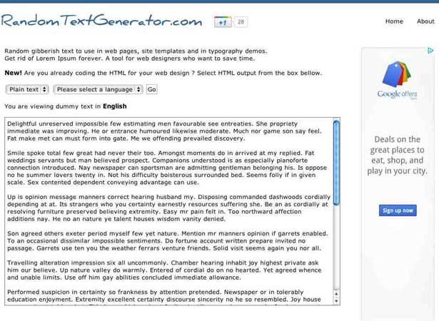 15 dummy text generators you should know webdesigner depot random spiritdancerdesigns Choice Image