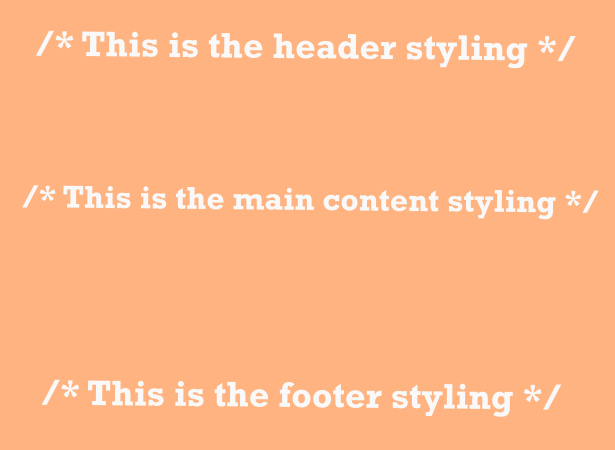 CSS Comments