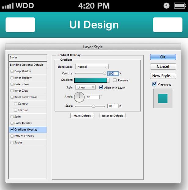 Tutorial: How to design a chatroom iPhone UI   Webdesigner Depot