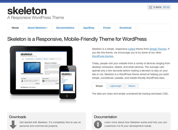 15 Free WordPress themes to get you started with Responsive Design ...