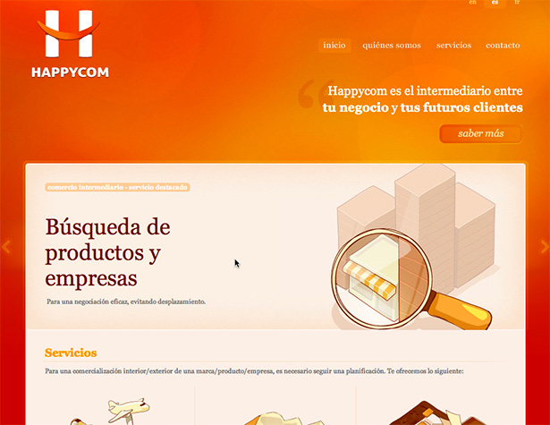 Happycom website