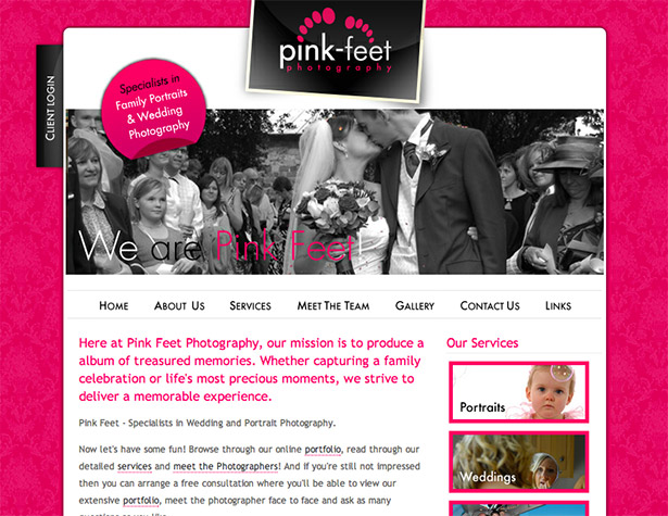 Pinkfeet website