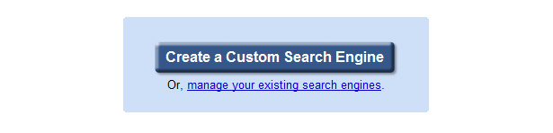 Create a custom search engine