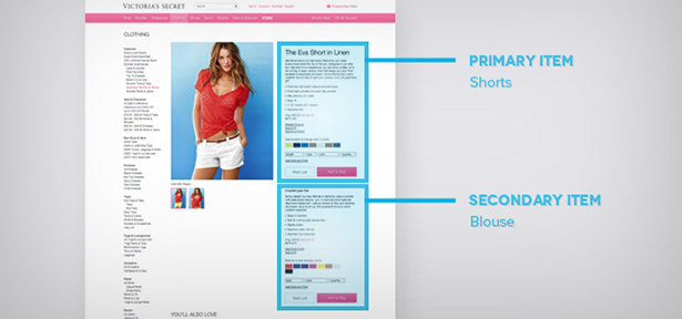 Victoria' Secret online