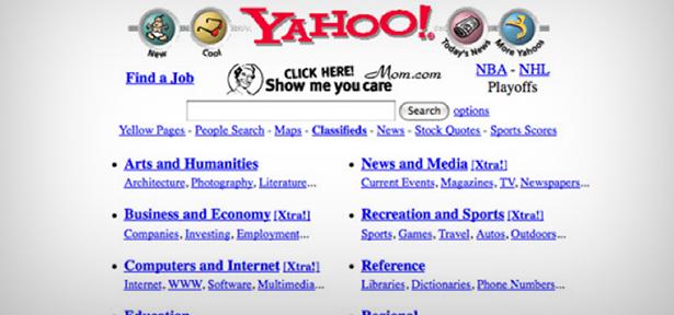 Yahoo! circa 1997
