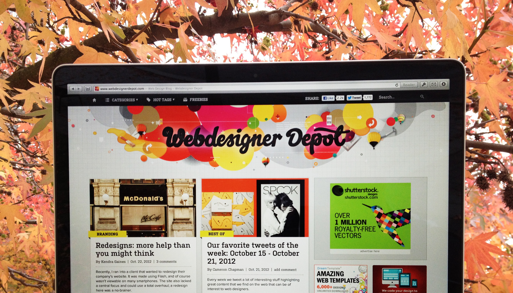 WebdesignerDepot redesigned!