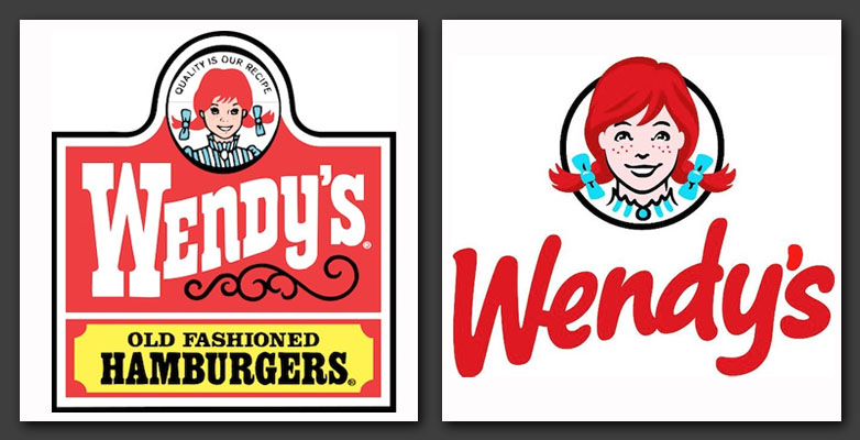 Are corporate logo changes always necessary webdesigner for Does wendy s have a fish sandwich