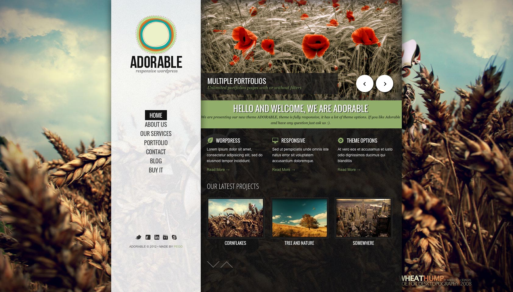 new wp themes to inspire you