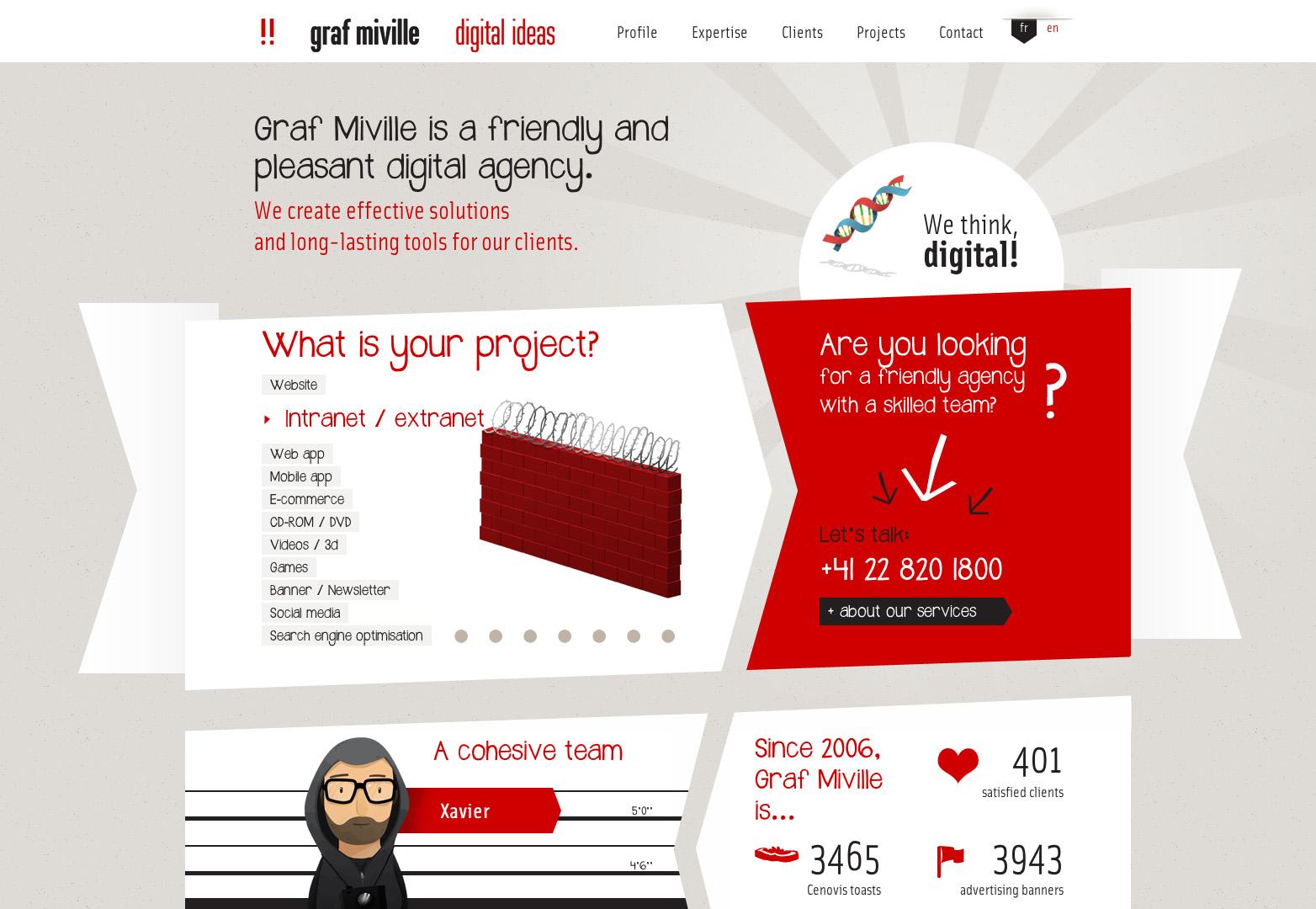 Trend alert: 20 animated website designs | Webdesigner Depot