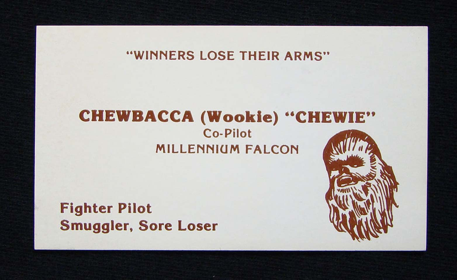 Business cards from a galaxy far, far away | Webdesigner Depot