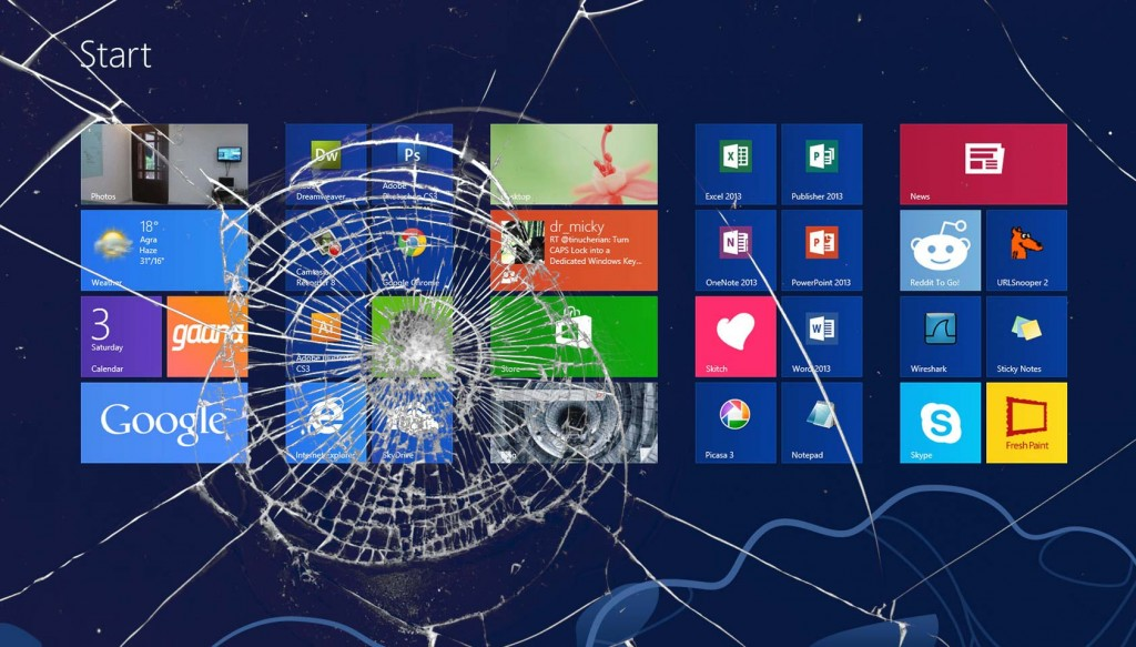 Is Windows 8 dysfunctional?
