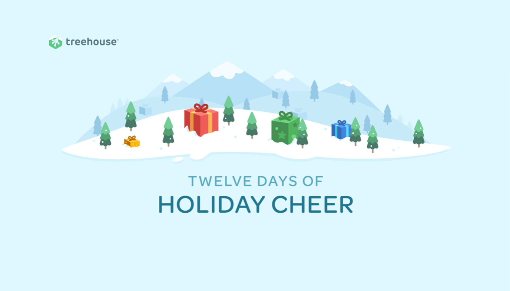 Giveaway: Treehouse's 12 days of holiday cheer