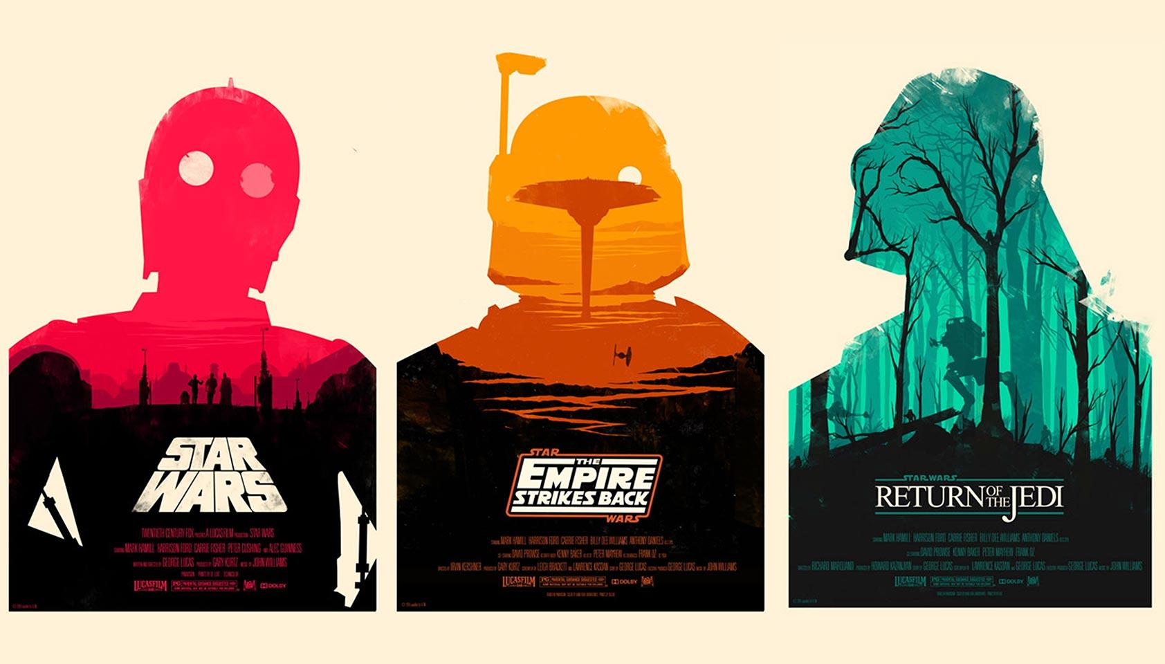 Classic film posters reimagined