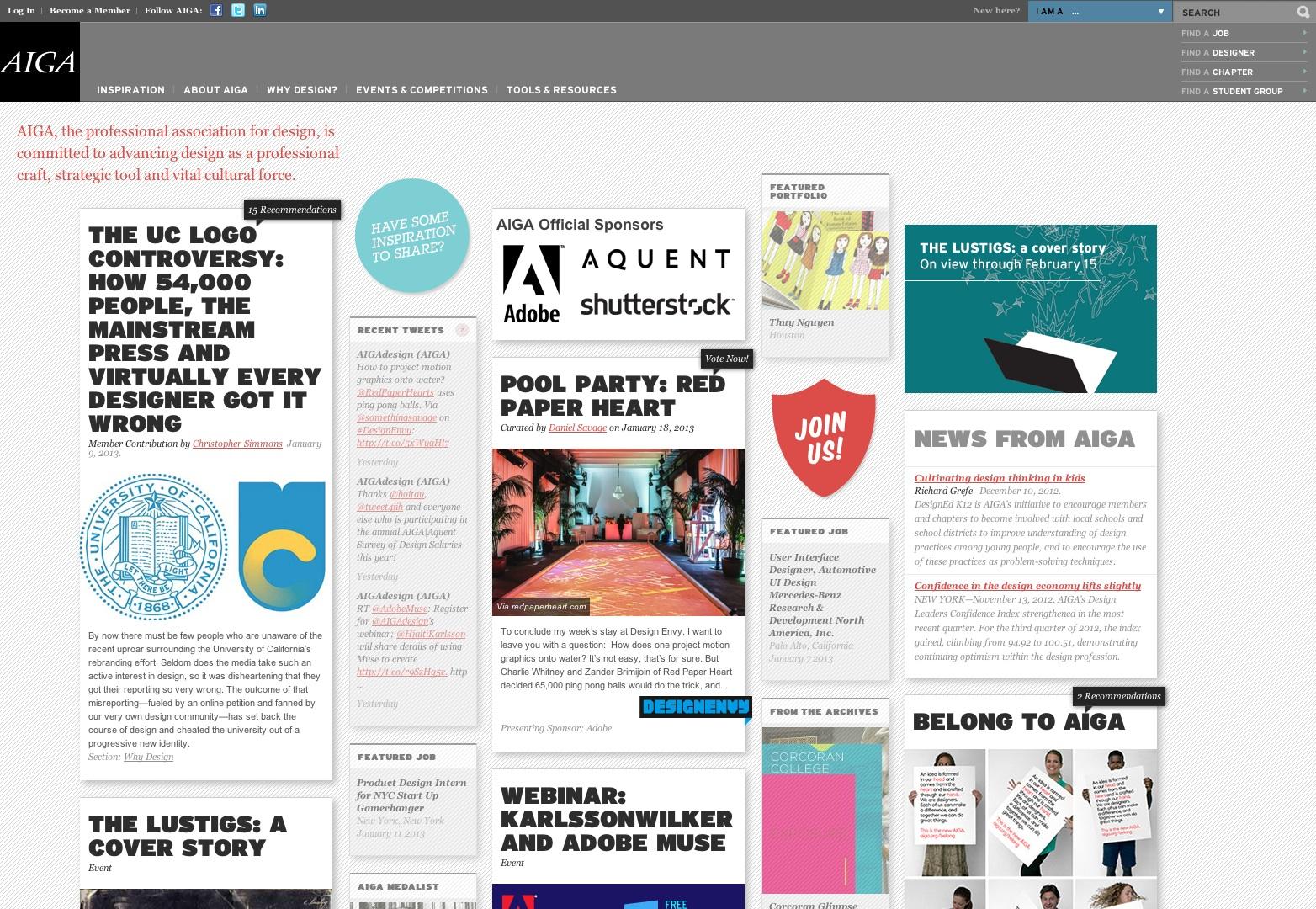 aiga - Blog Inspiration Design