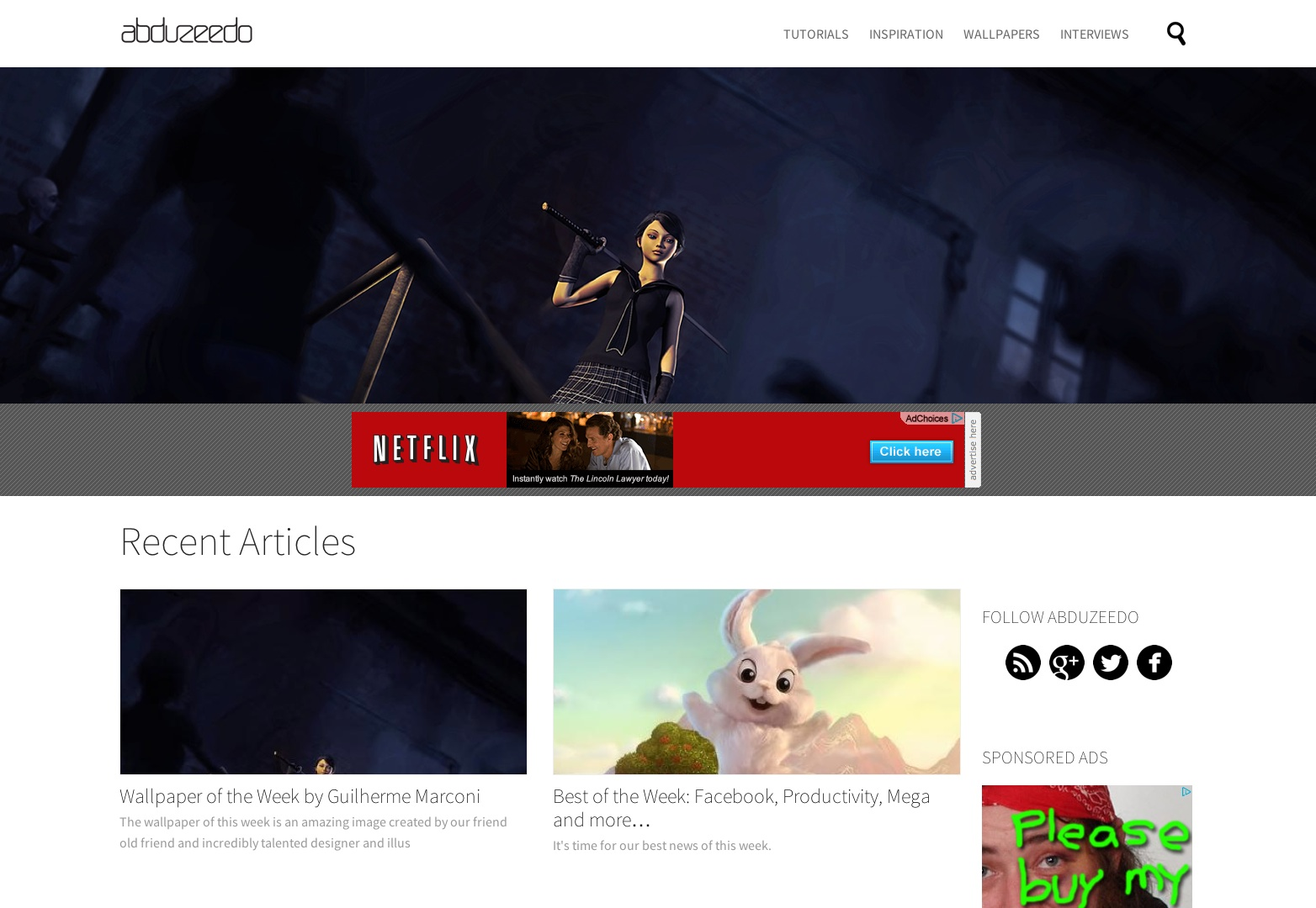 15+ beautiful blog designs   Webdesigner Depot