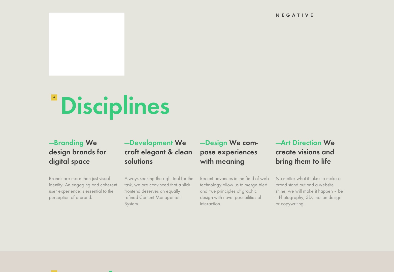 20 Typographic Websites