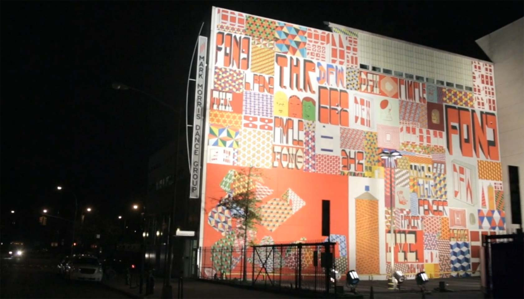Barry McGee's monumental mural
