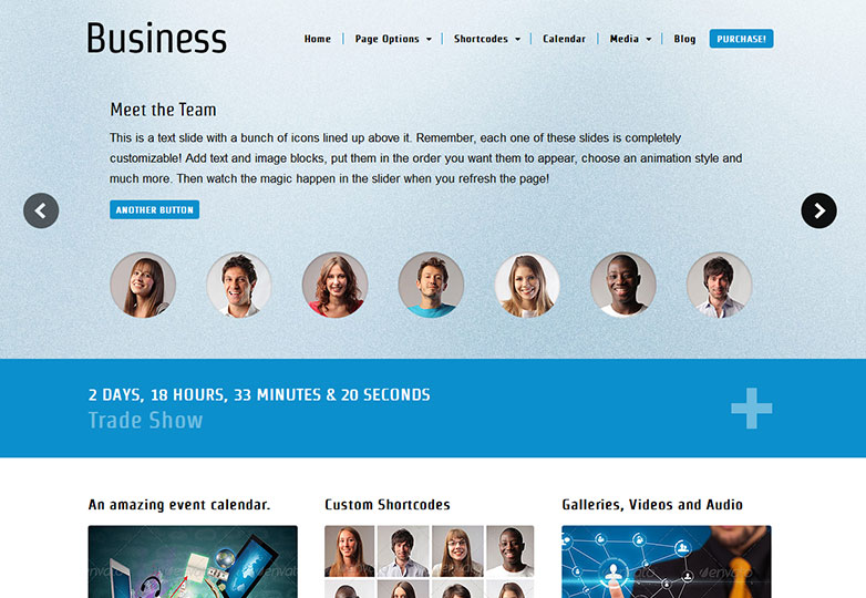 30 fresh WordPress business themes | Webdesigner Depot