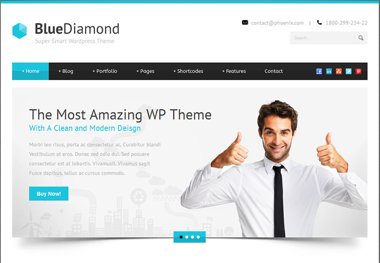 30 fresh wordpress business themes webdesigner depot what do you look for in a wordpress business flashek Image collections