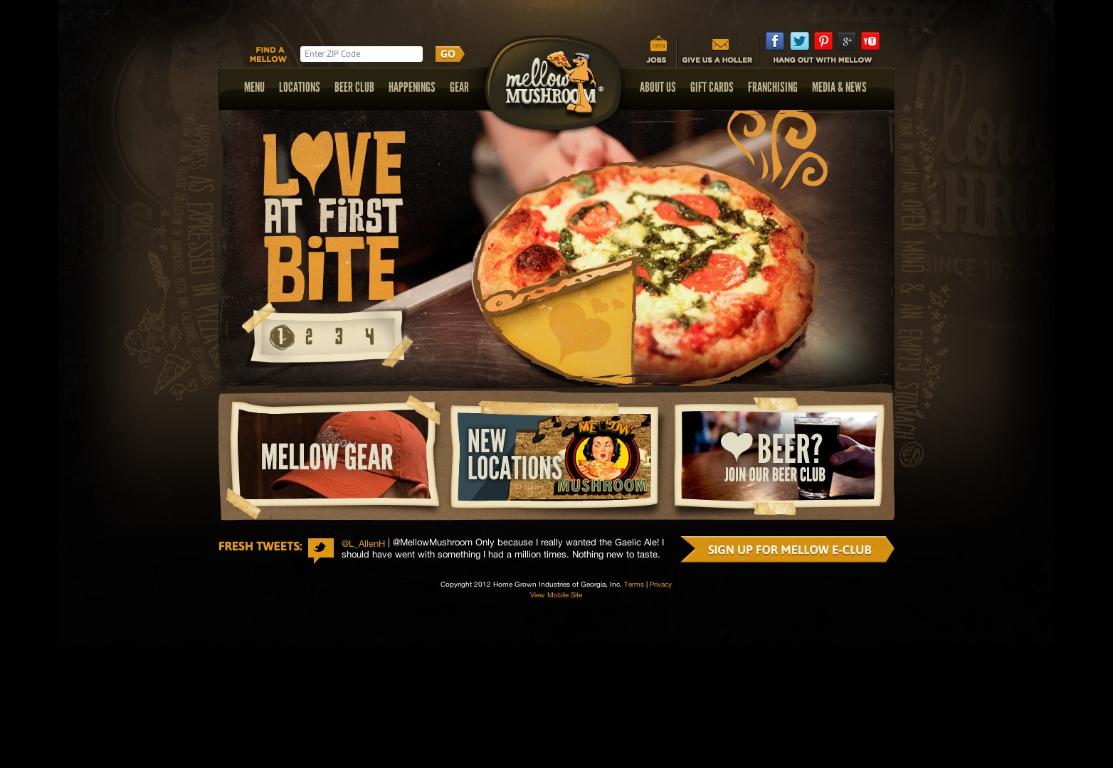 15 Food And Restaurant Web Designs
