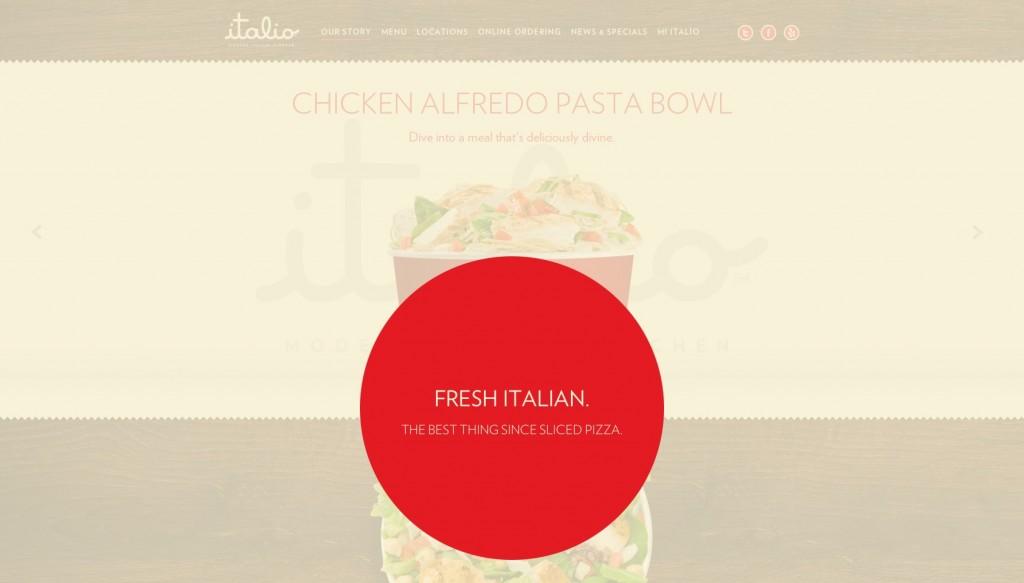 Food and restaurant web designs webdesigner depot
