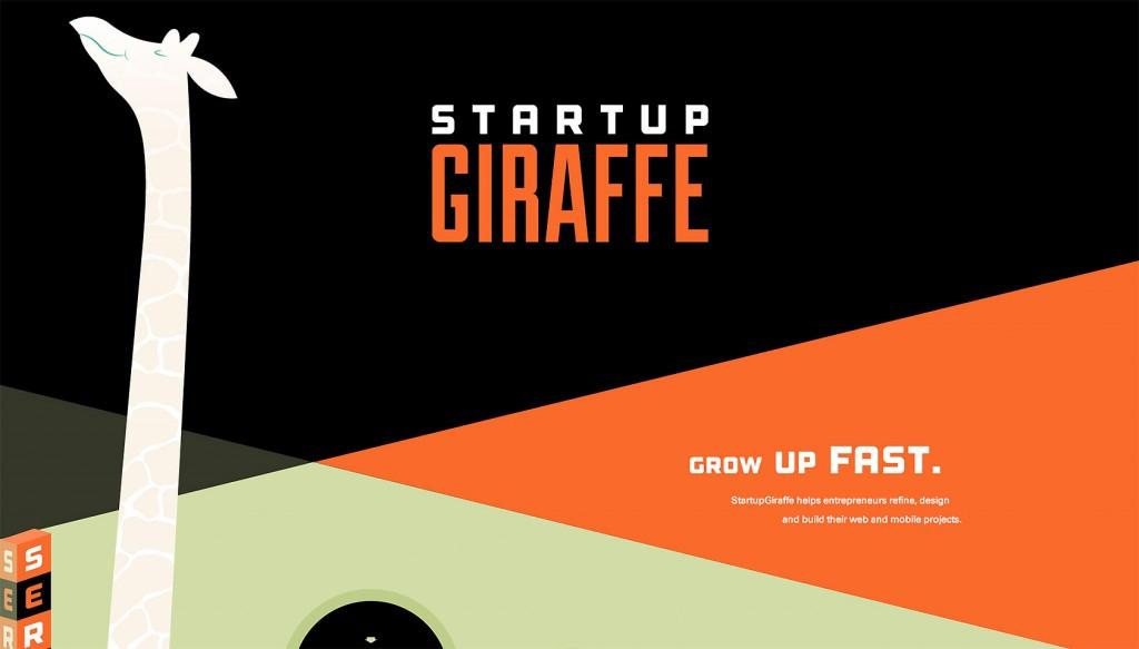 Building the StartupGiraffe website