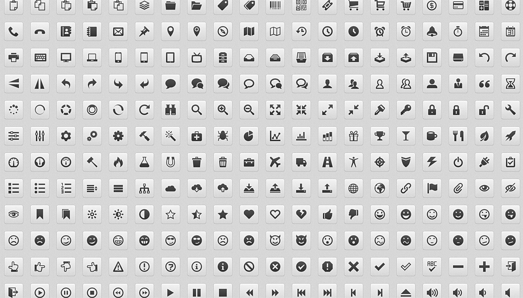 How To Turn Your Icons Into A Web Font Webdesigner Depot