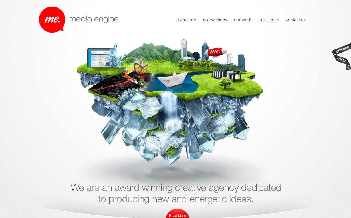 20 Wonderful Design Heavy Websites