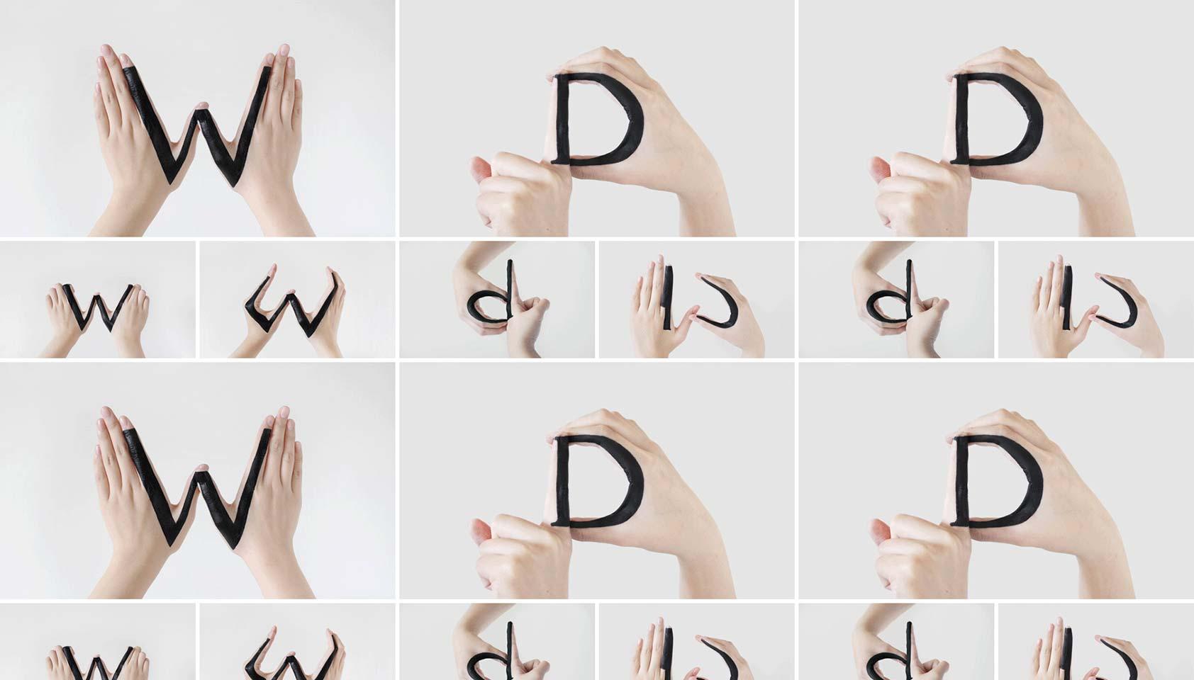 Astonishing handmade type