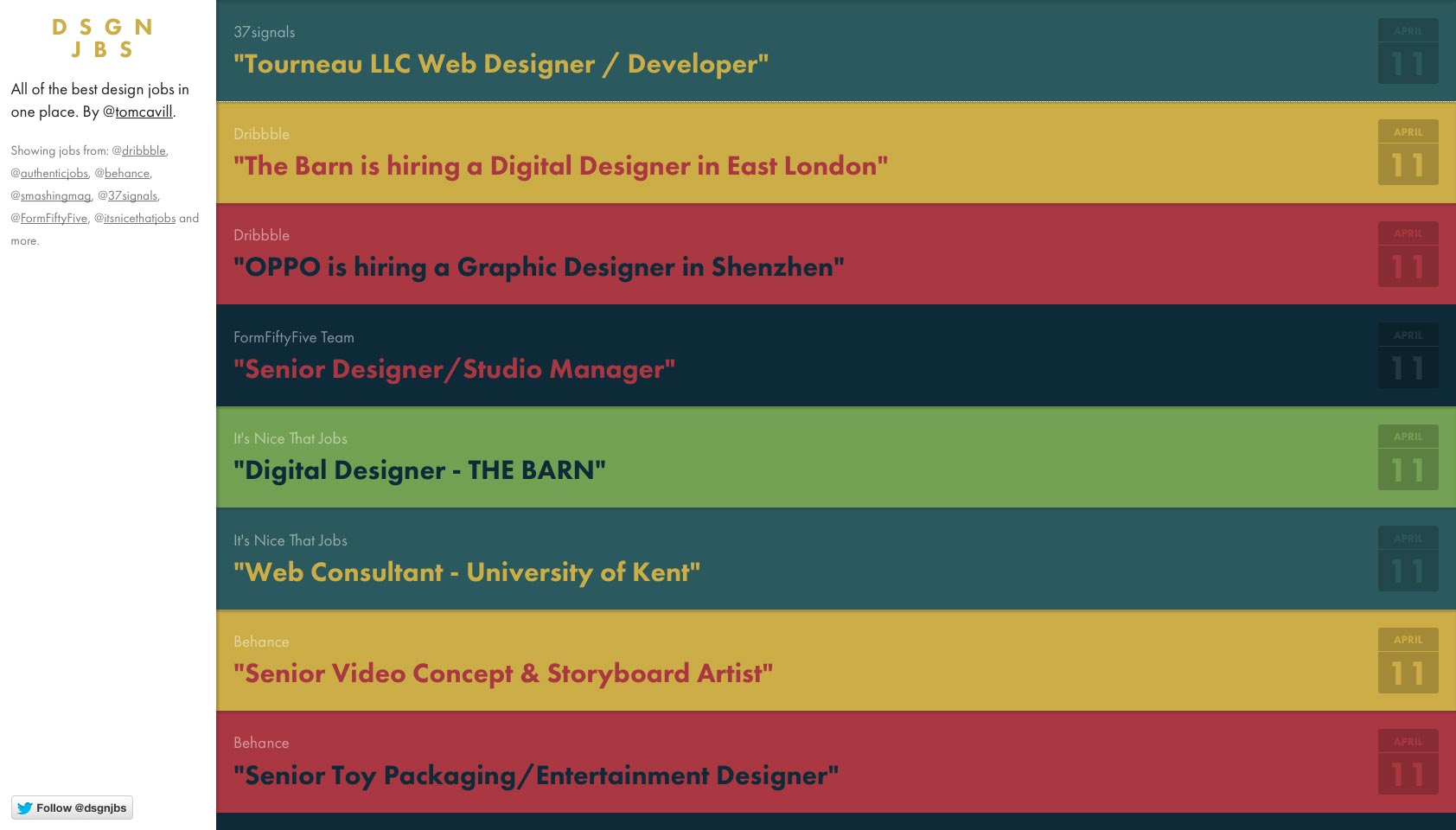 What's new for designers, April 2013