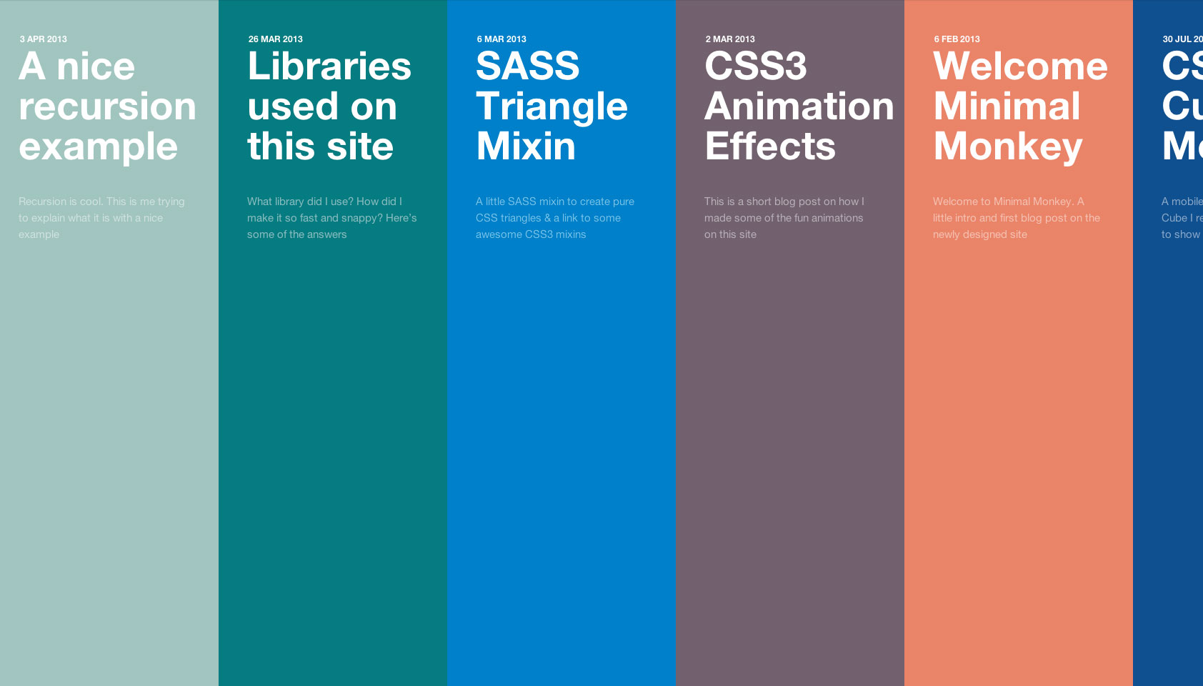 Flat design examples: 15+ innovative flat design websites ...
